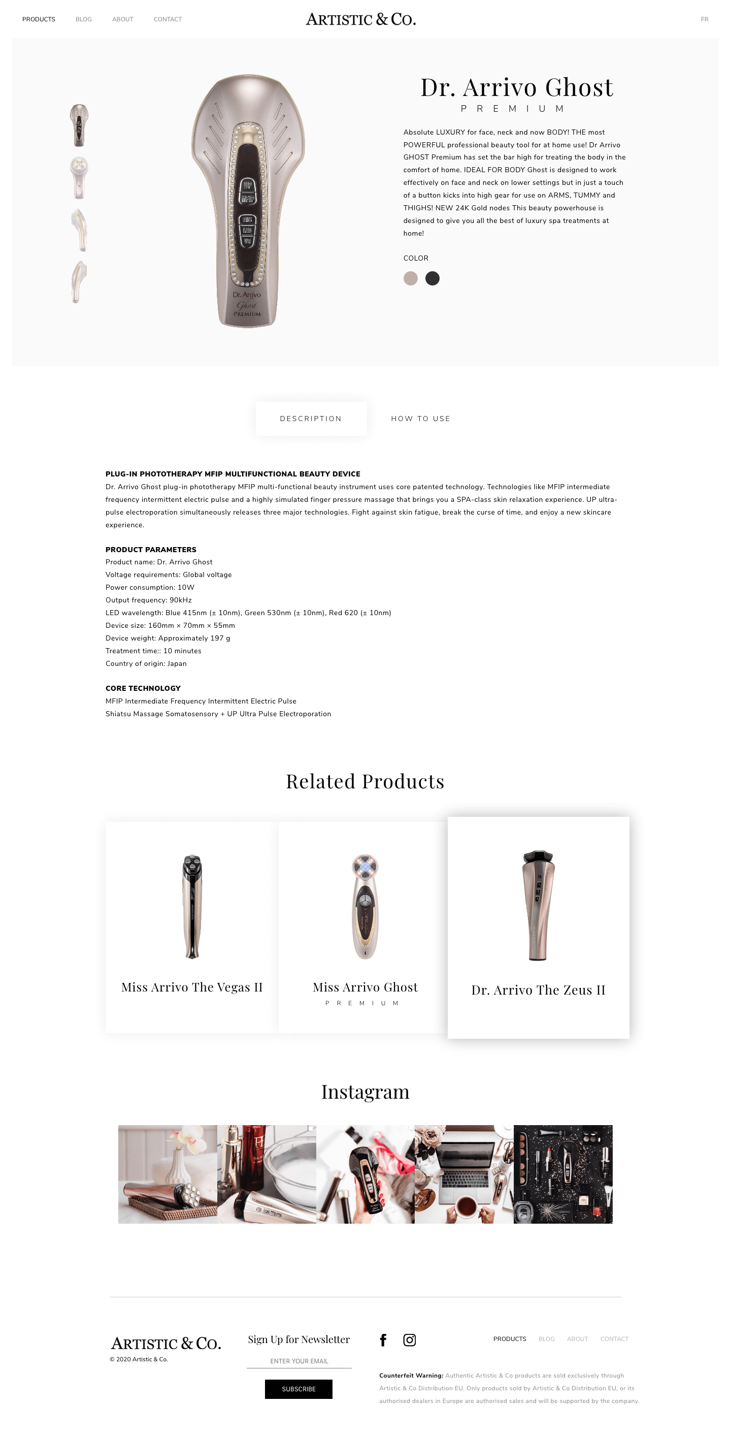 artistic-co-fr-single-page
